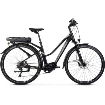 KROSS TRANS HYBRID 5.0 NŐI HASZNÁLT elektromos kerékpár 2-3000 km