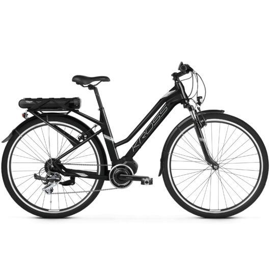 KROSS TRANS HYBRID 2.0 NŐI HASZNÁLT elektromos kerékpár 2-3000 km